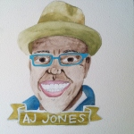 Talent Loves Company at Barbara Archer Gallery: 365 portraits by Lydia Walls - AJ Jones