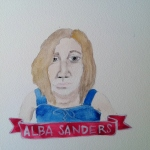 Talent Loves Company at Barbara Archer Gallery: 365 portraits by Lydia Walls - Alba Sanders