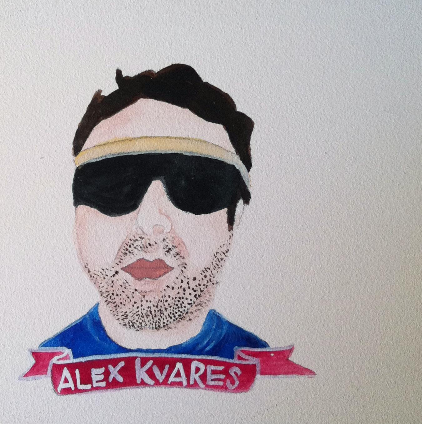 Talent Loves Company at Barbara Archer Gallery: 365 portraits by Lydia Walls - Alex Kvares
