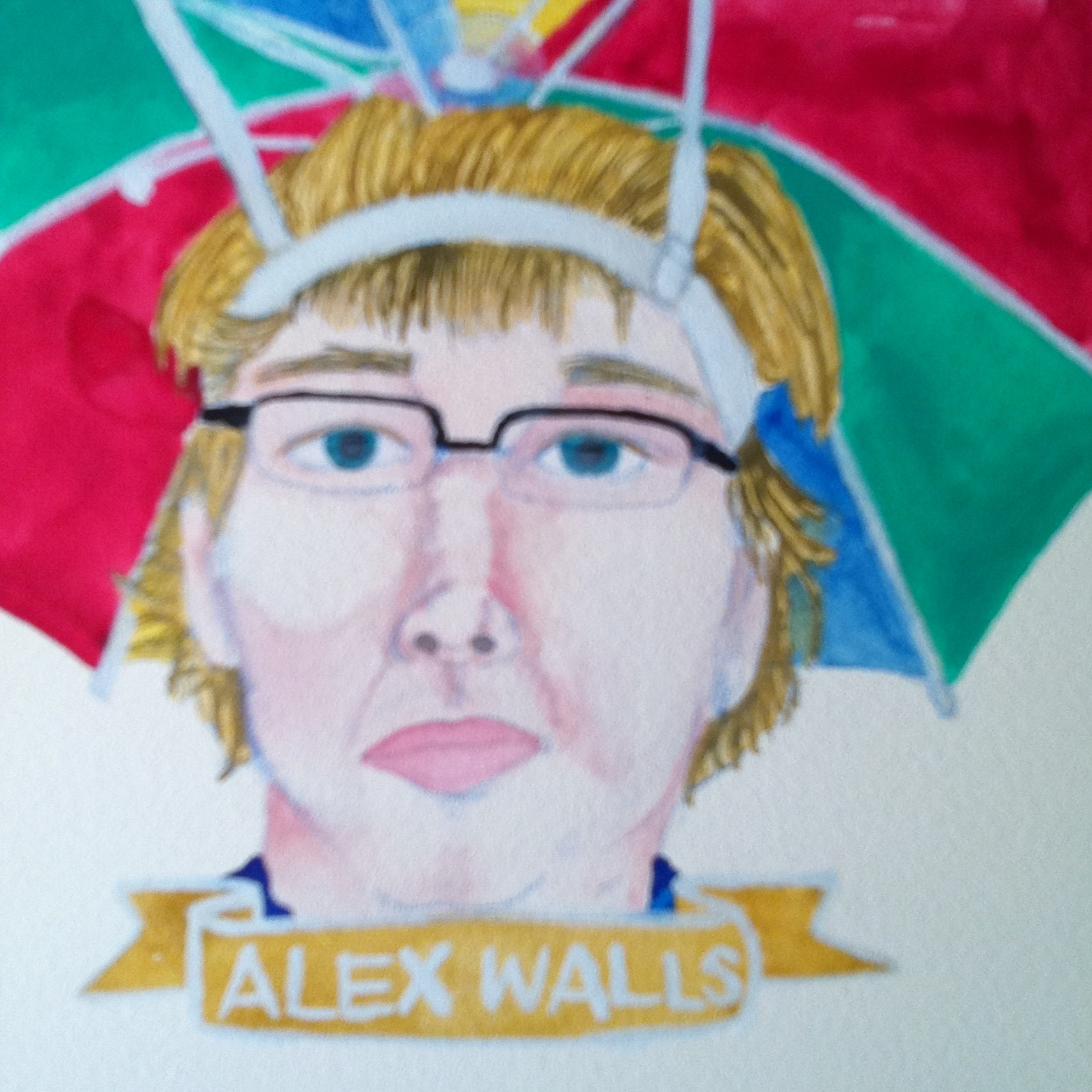 Talent Loves Company at Barbara Archer Gallery: 365 portraits by Lydia Walls - Alex Walls