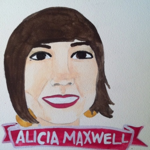 Talent Loves Company at Barbara Archer Gallery: 365 portraits by Lydia Walls - Alicia Maxwell