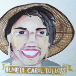 Talent Loves Company at Barbara Archer Gallery: 365 portraits by Lydia Walls - Almeta Carol Tulloss
