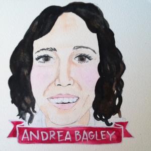 Talent Loves Company at Barbara Archer Gallery: 365 portraits by Lydia Walls - Andrea Bagley
