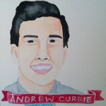 Talent Loves Company at Barbara Archer Gallery: 365 portraits by Lydia Walls - Andrew Currie