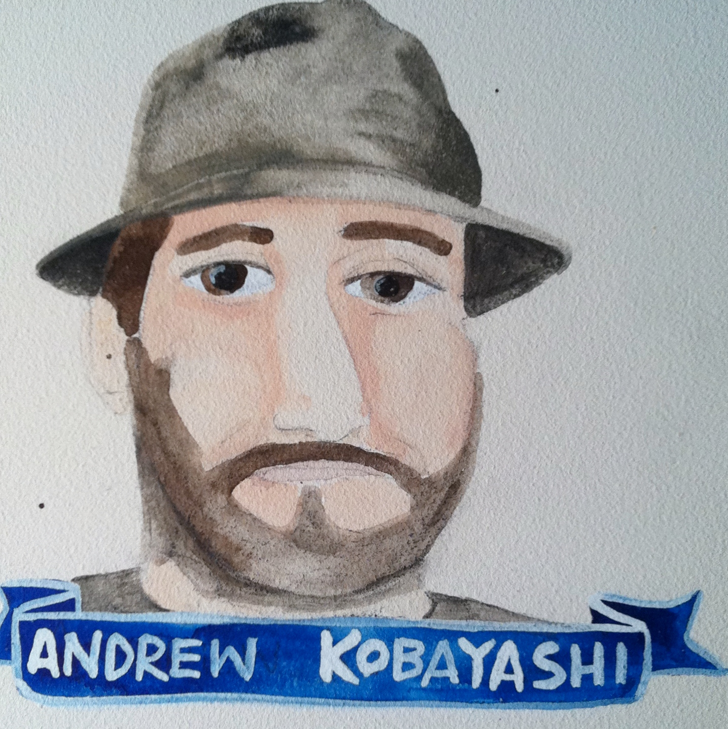 Talent Loves Company at Barbara Archer Gallery: 365 portraits by Lydia Walls - Andrew Kobayashi