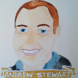 Talent Loves Company at Barbara Archer Gallery: 365 portraits by Lydia Walls - Andrew Stewart