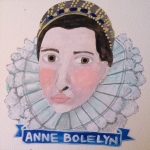 Talent Loves Company at Barbara Archer Gallery: 365 portraits by Lydia Walls - Anne Bolelyn