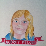 Talent Loves Company at Barbara Archer Gallery: 365 portraits by Lydia Walls - Audrey Felske