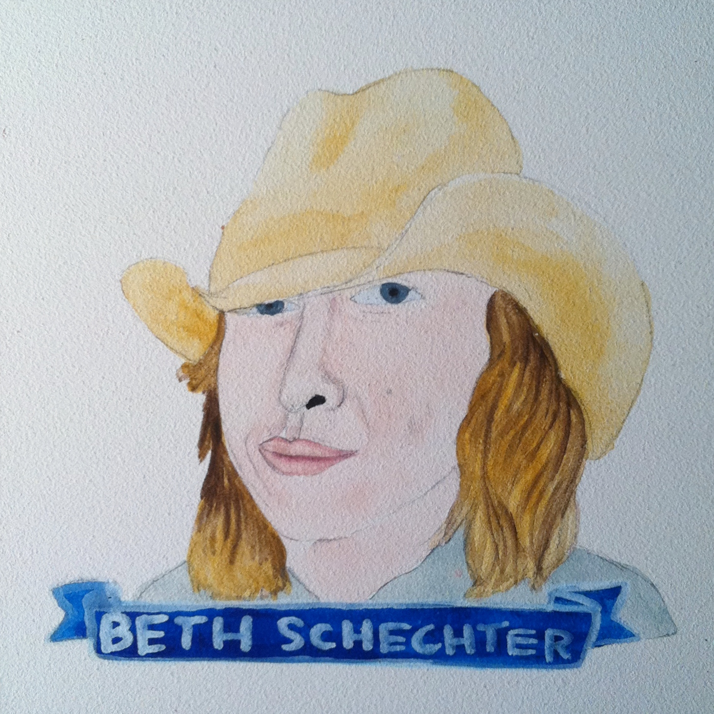 Talent Loves Company at Barbara Archer Gallery: 365 portraits by Lydia Walls - Beth Schechter