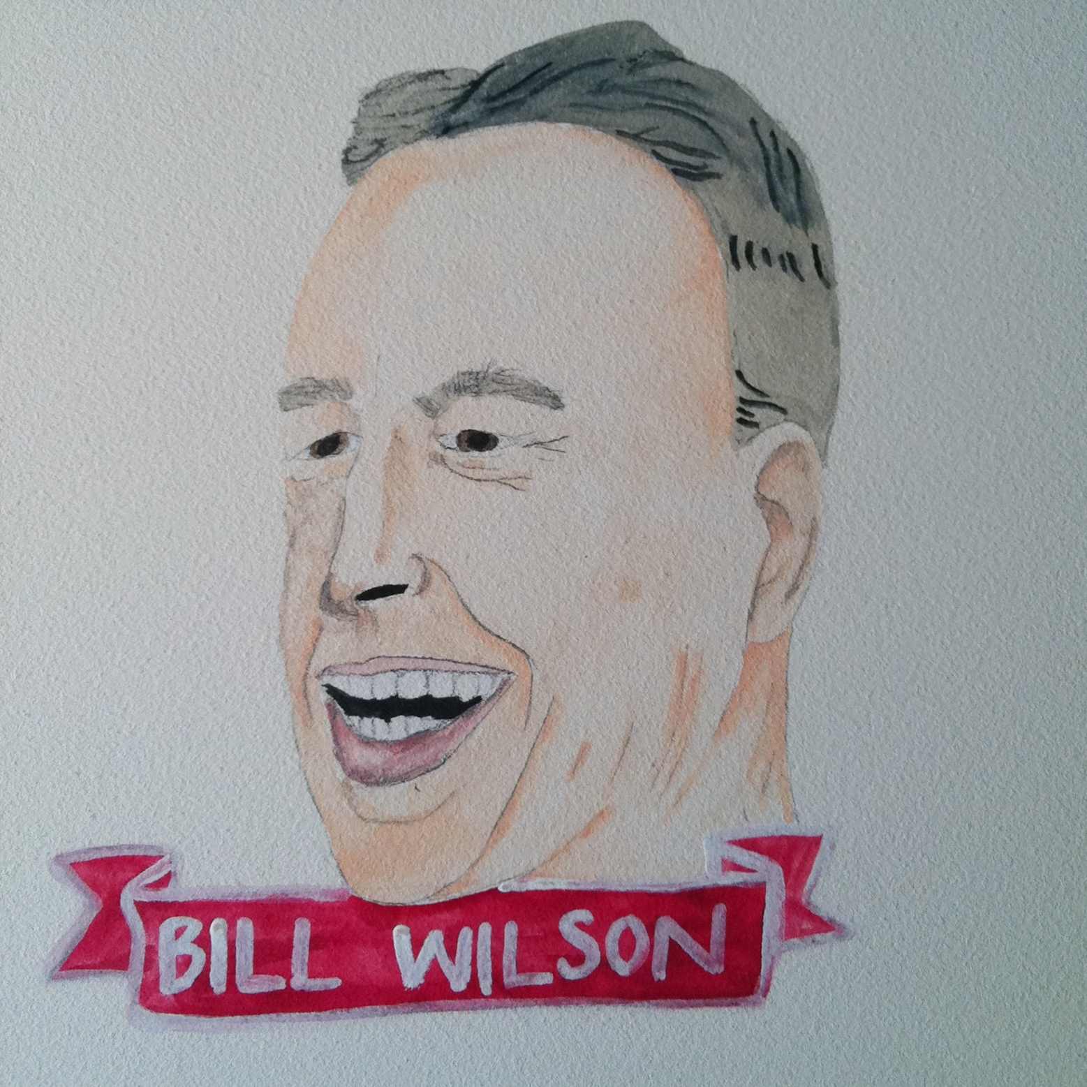 Talent Loves Company at Barbara Archer Gallery: 365 portraits by Lydia Walls - Bill Wilson