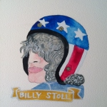 Talent Loves Company at Barbara Archer Gallery: 365 portraits by Lydia Walls - Billy Stoll