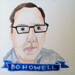 Talent Loves Company at Barbara Archer Gallery: 365 portraits by Lydia Walls - Bo Howell