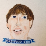 Talent Loves Company at Barbara Archer Gallery: 365 portraits by Lydia Walls - Bradford Cox