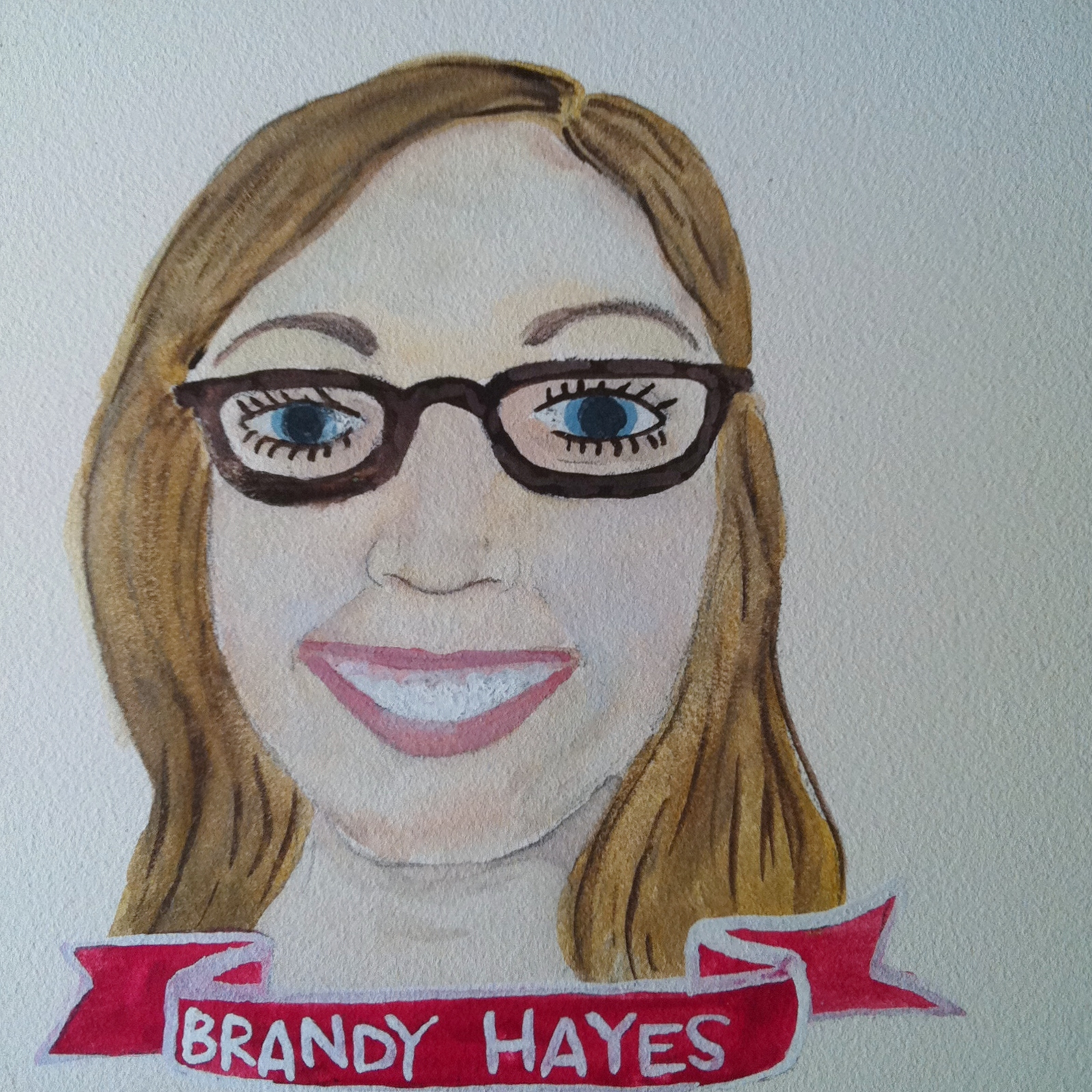 Talent Loves Company at Barbara Archer Gallery: 365 portraits by Lydia Walls - Brandy Hayes