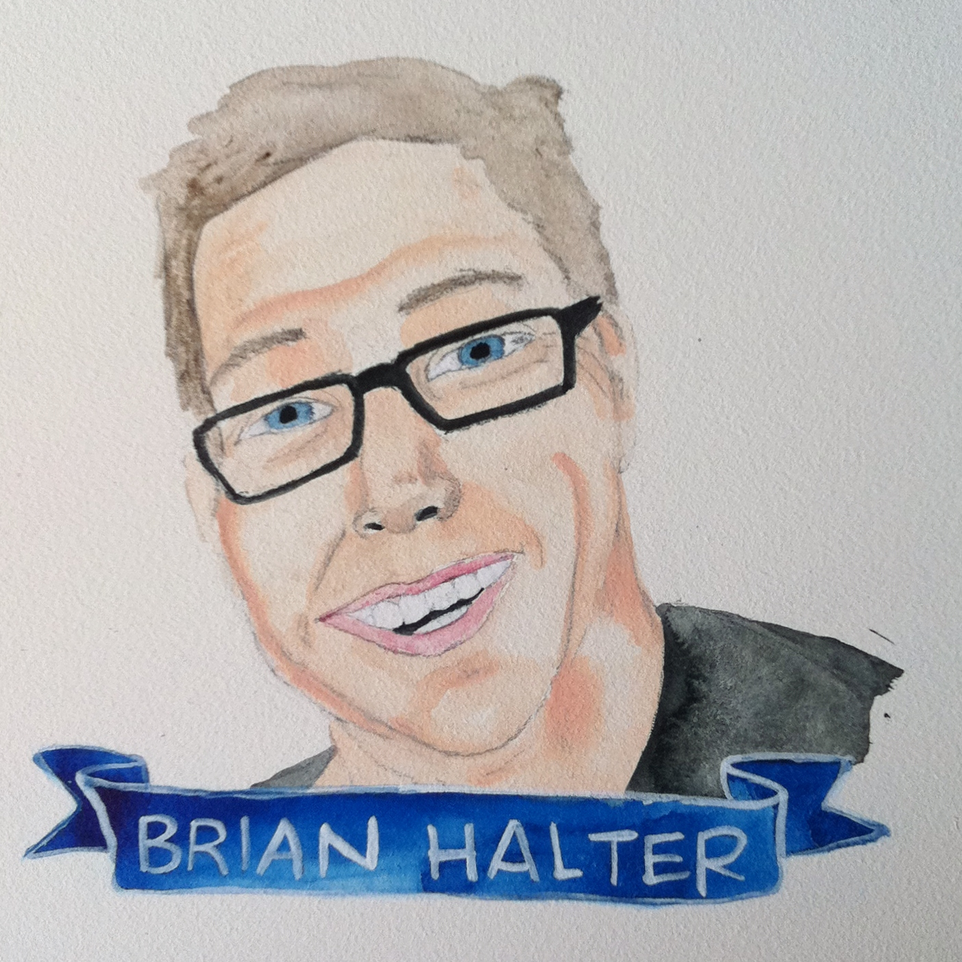 Talent Loves Company at Barbara Archer Gallery: 365 portraits by Lydia Walls - Brian Halter