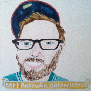 Talent Loves Company at Barbara Archer Gallery: 365 portraits by Lydia Walls - Brian Hayes