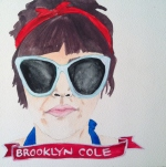 Talent Loves Company at Barbara Archer Gallery: 365 portraits by Lydia Walls - Brooklyn Cole