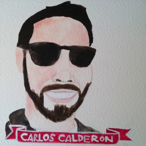 Talent Loves Company at Barbara Archer Gallery: 365 portraits by Lydia Walls - Carlos Calderon