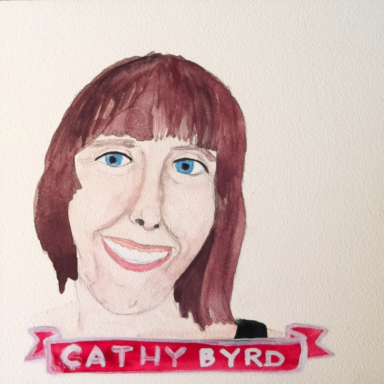 Talent Loves Company at Barbara Archer Gallery: 365 portraits by Lydia Walls - Cathy Byrd
