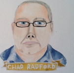 Talent Loves Company at Barbara Archer Gallery: 365 portraits by Lydia Walls - Chad Radford