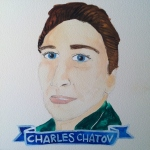 Talent Loves Company at Barbara Archer Gallery: 365 portraits by Lydia Walls - Charles Chatov