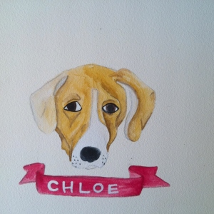Talent Loves Company at Barbara Archer Gallery: 365 portraits by Lydia Walls - Chloe