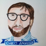 Talent Loves Company at Barbara Archer Gallery: 365 portraits by Lydia Walls - Chris Ammons
