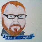 Talent Loves Company at Barbara Archer Gallery: 365 portraits by Lydia Walls - Chris Hamer