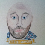 Talent Loves Company at Barbara Archer Gallery: 365 portraits by Lydia Walls - Chris Howe