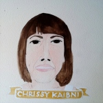 Talent Loves Company at Barbara Archer Gallery: 365 portraits by Lydia Walls - Chrissy Kaibni
