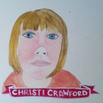 Talent Loves Company at Barbara Archer Gallery: 365 portraits by Lydia Walls - Christi Crawford