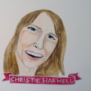 Talent Loves Company at Barbara Archer Gallery: 365 portraits by Lydia Walls - Christie Harwell