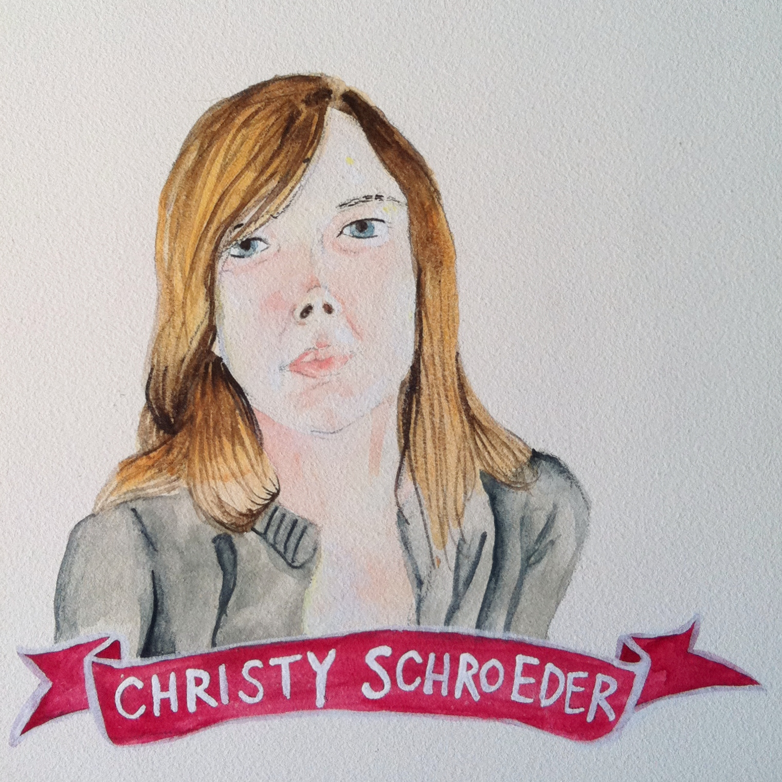 Talent Loves Company at Barbara Archer Gallery: 365 portraits by Lydia Walls - Christy Schroeder