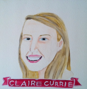 Talent Loves Company at Barbara Archer Gallery: 365 portraits by Lydia Walls - Claire Currie
