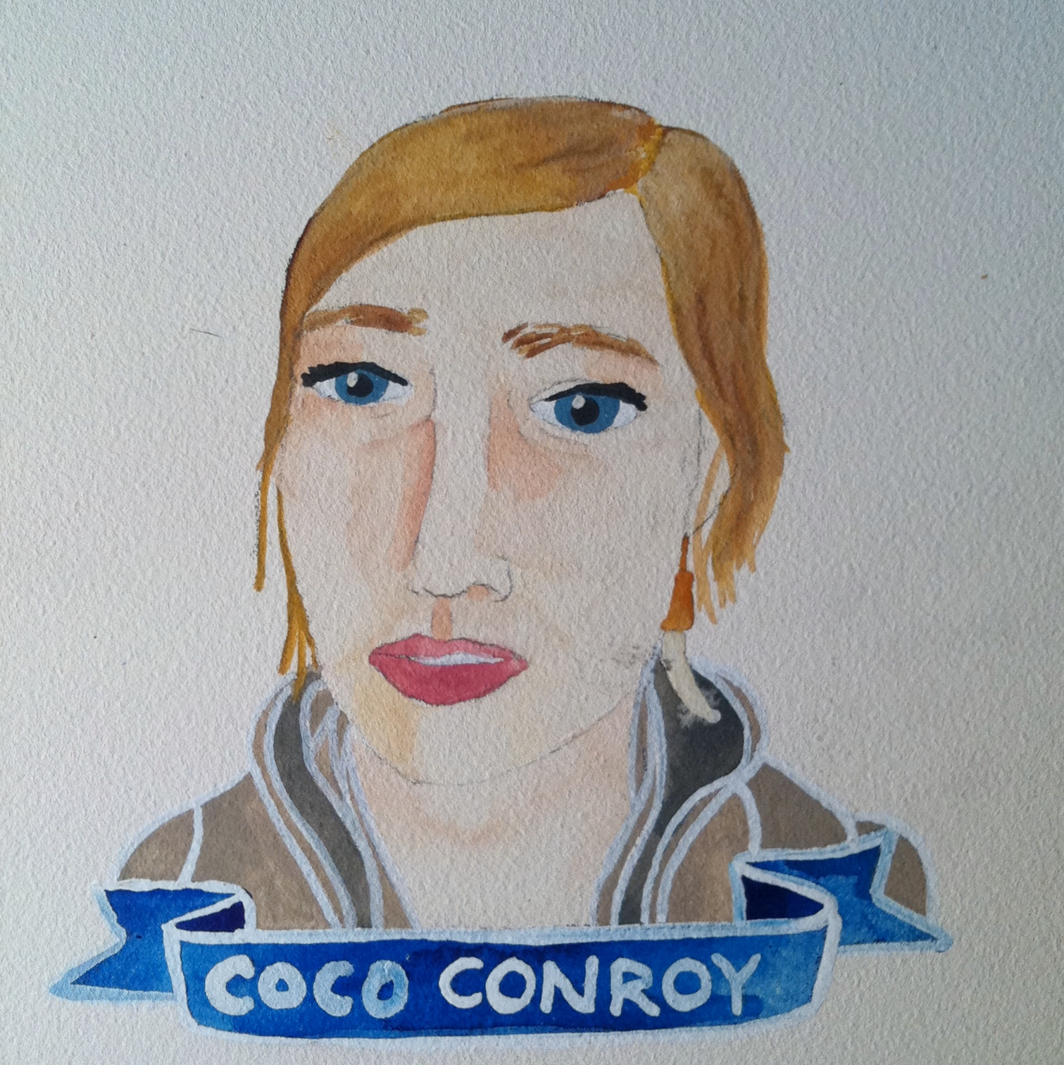 Talent Loves Company at Barbara Archer Gallery: 365 portraits by Lydia Walls - Coco Conroy