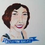 Talent Loves Company at Barbara Archer Gallery: 365 portraits by Lydia Walls - Danette Haser