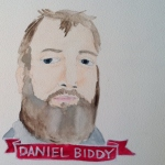 Talent Loves Company at Barbara Archer Gallery: 365 portraits by Lydia Walls - Daniel Biddy