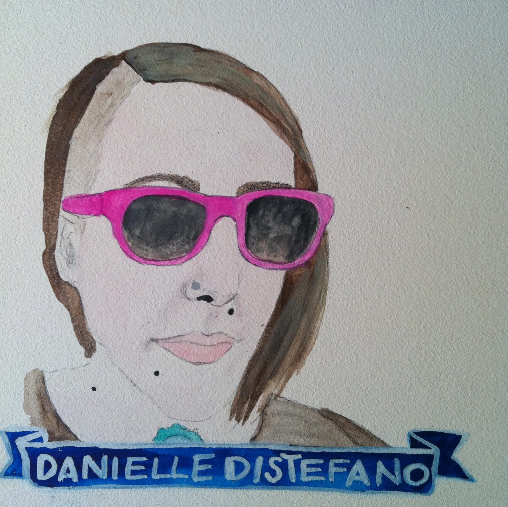 Talent Loves Company at Barbara Archer Gallery: 365 portraits by Lydia Walls - Danielle Distefano