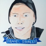 Talent Loves Company at Barbara Archer Gallery: 365 portraits by Lydia Walls - Daniel Stabler