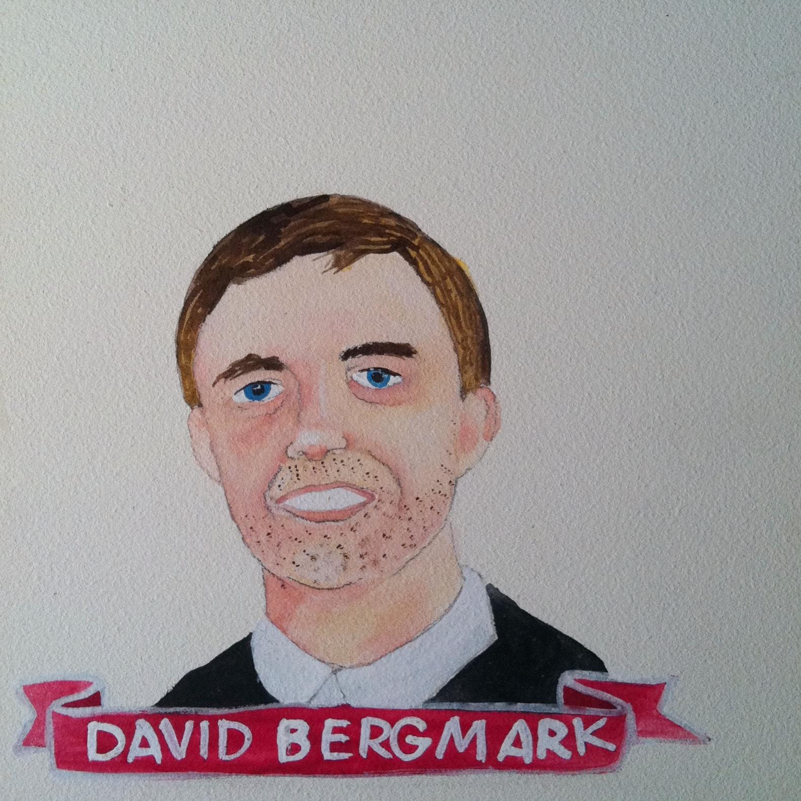 Talent Loves Company at Barbara Archer Gallery: 365 portraits by Lydia Walls - David Bergmark