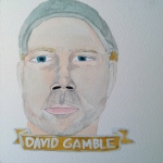Talent Loves Company at Barbara Archer Gallery: 365 portraits by Lydia Walls - David Gamble
