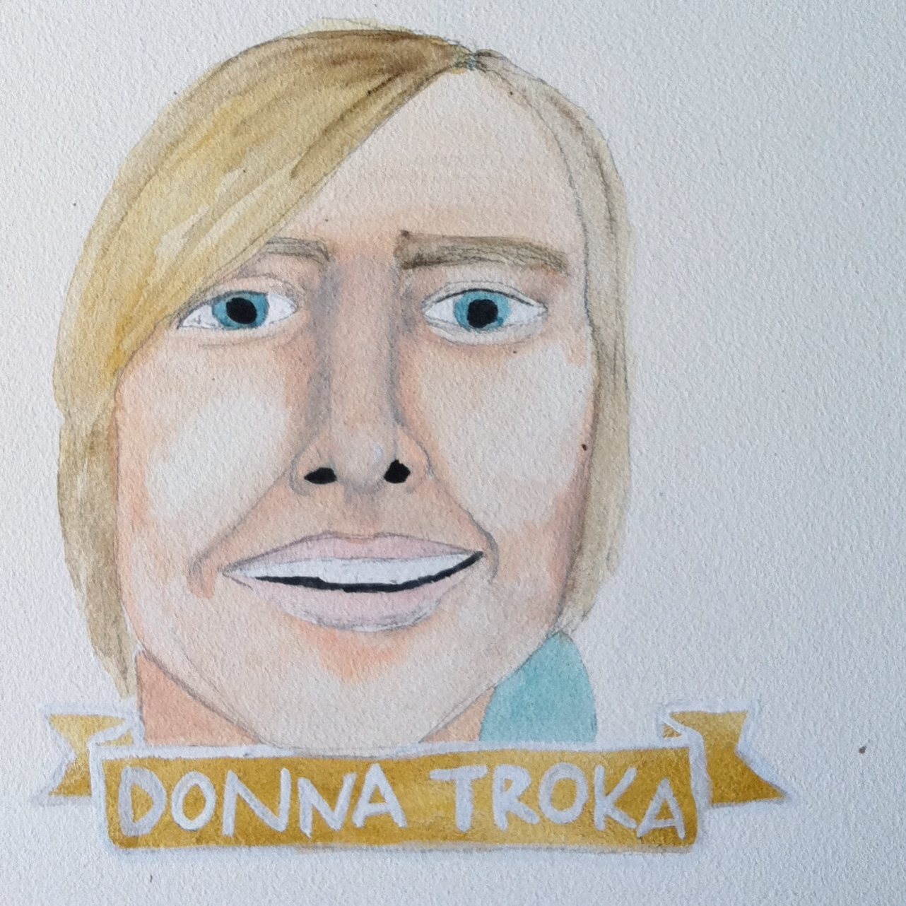 Talent Loves Company at Barbara Archer Gallery: 365 portraits by Lydia Walls - Donna Troka