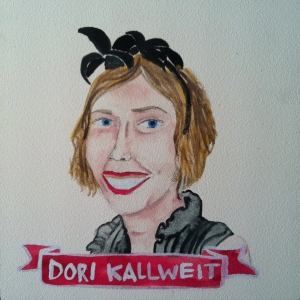 Talent Loves Company at Barbara Archer Gallery: 365 portraits by Lydia Walls - Dori Kallweit