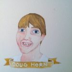 Talent Loves Company at Barbara Archer Gallery: 365 portraits by Lydia Walls - Doug Horn