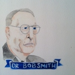Talent Loves Company at Barbara Archer Gallery: 365 portraits by Lydia Walls - Dr Bob Smith