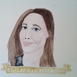 Talent Loves Company at Barbara Archer Gallery: 365 portraits by Lydia Walls - Elizabeth Peterson