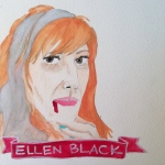Talent Loves Company at Barbara Archer Gallery: 365 portraits by Lydia Walls - Ellen Black