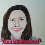 Talent Loves Company at Barbara Archer Gallery: 365 portraits by Lydia Walls - Ellie Porter Cantkier