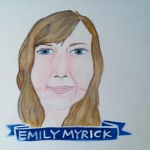 Talent Loves Company at Barbara Archer Gallery: 365 portraits by Lydia Walls - Emily Myrick