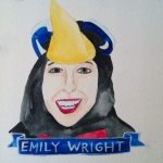 Talent Loves Company at Barbara Archer Gallery: 365 portraits by Lydia Walls - Emily Wright